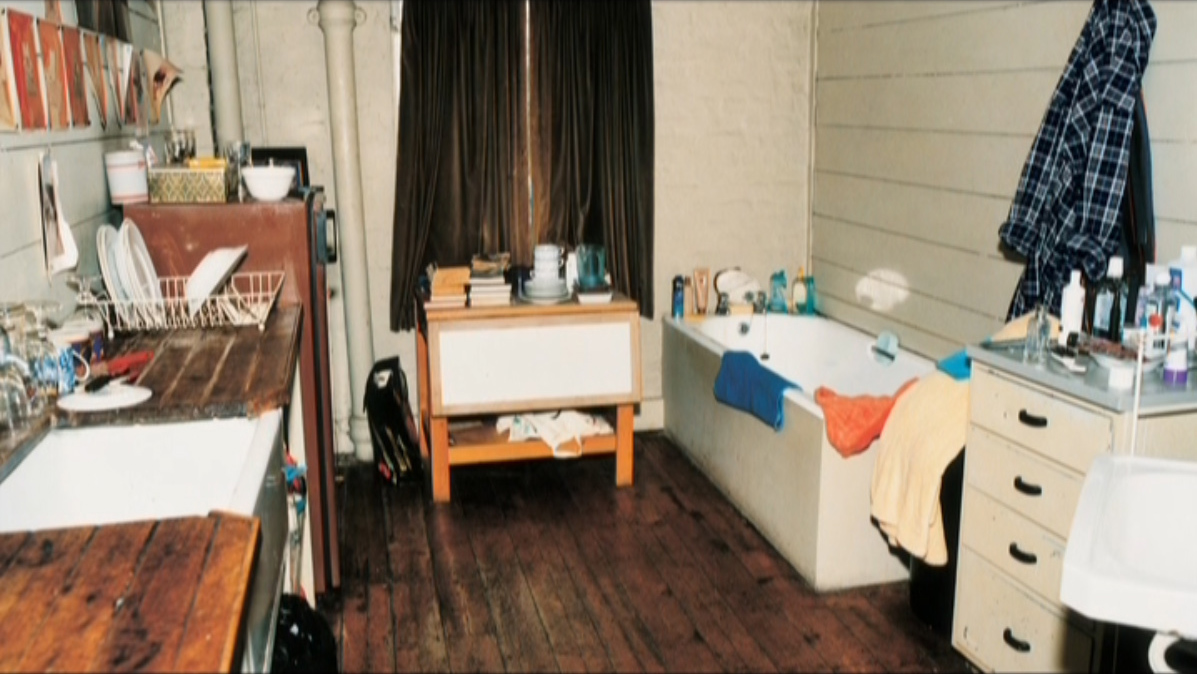 Francis Bacon's Reece Mews kitchen/bathroom