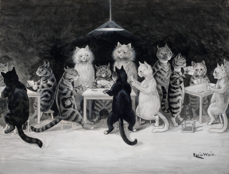 Louis Wain: Cats Bridge