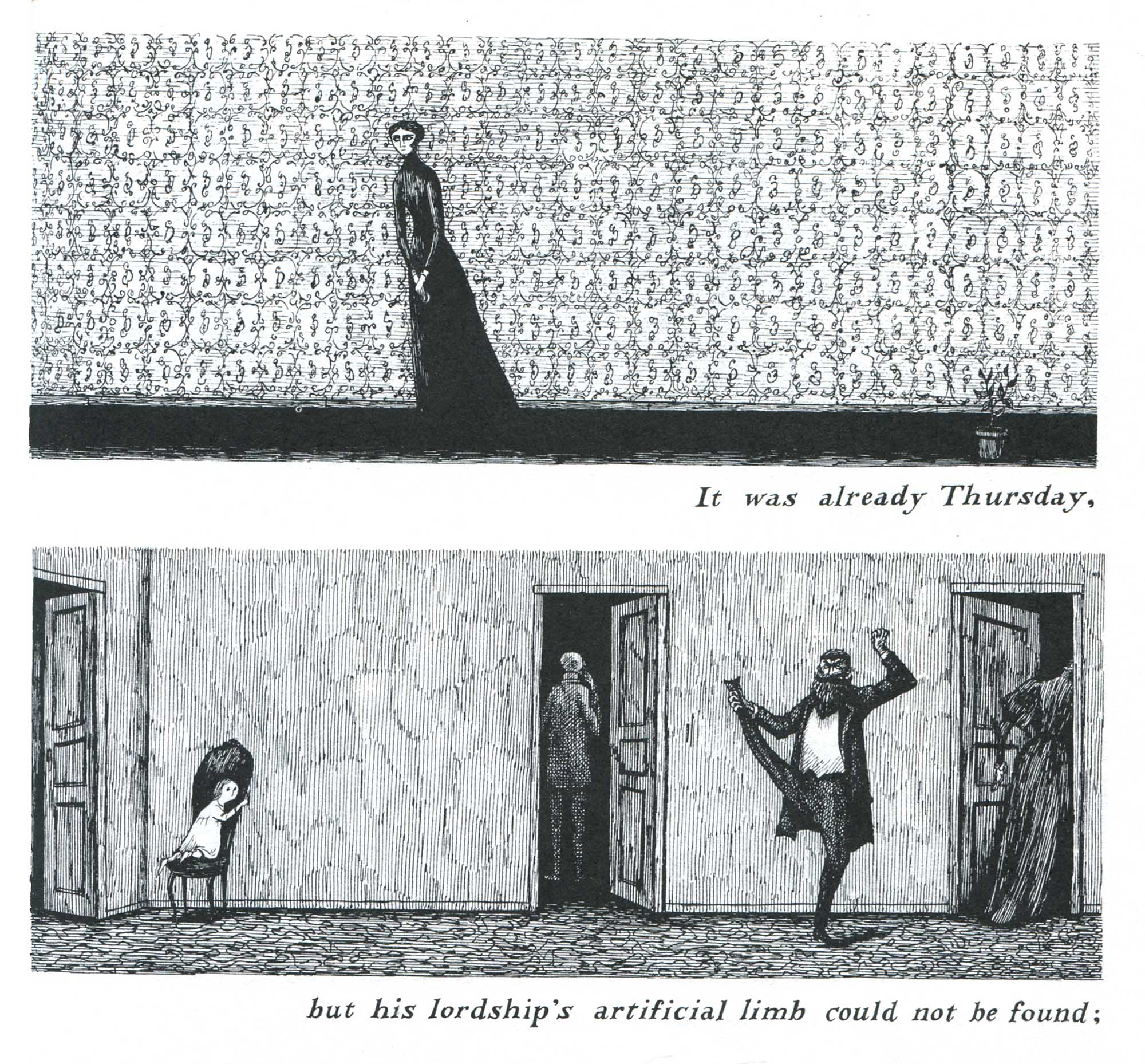 Edward Gorey: The Object-Lesson (1958)