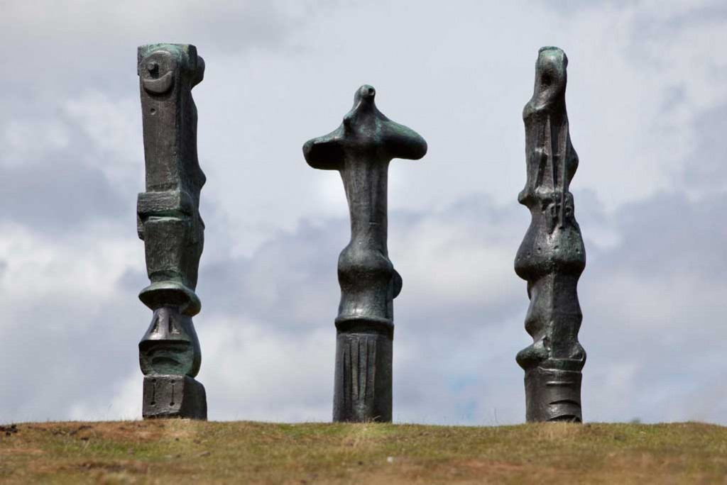 Henry Moore: Upright Motives (1955) | Photo: The Henry Moore Foundation, from The Guardian (fair use)