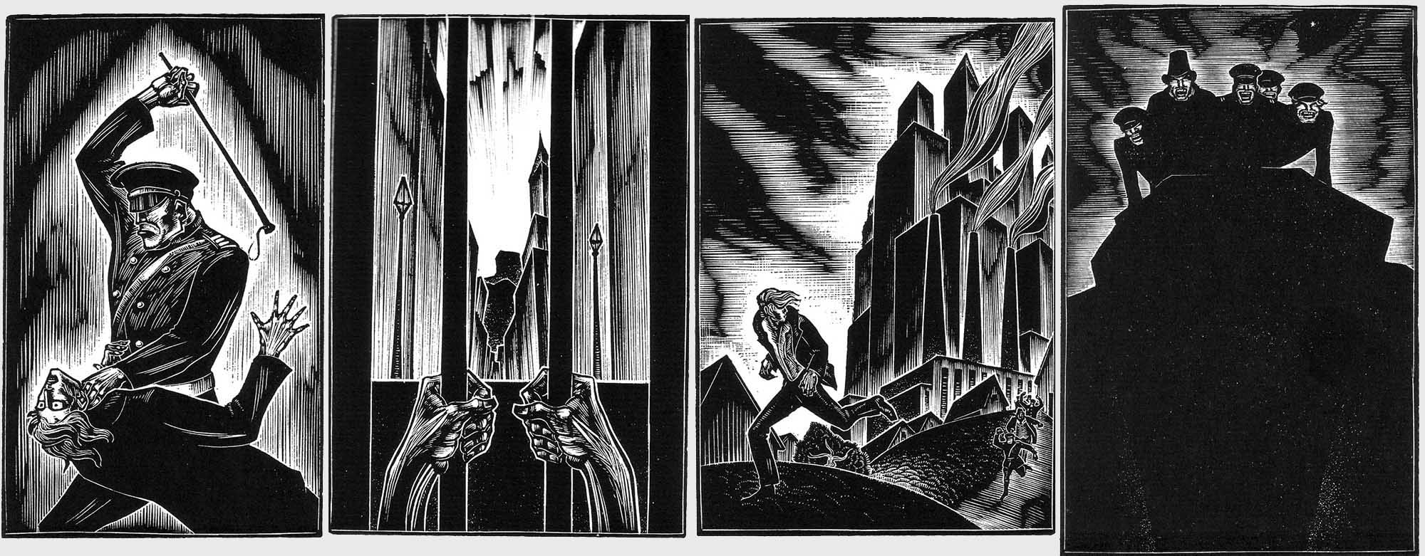 Lynd Ward: Gods Men (1929)