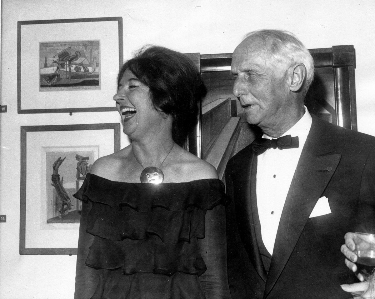 Dorothea Tanning & Max Ernst | Image from Huffington Post (fair use)
