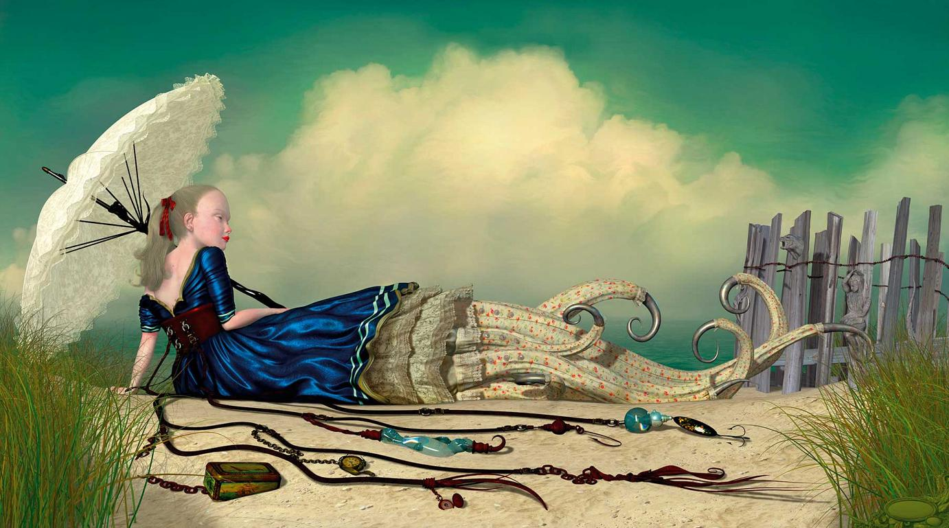 Ray Caesar: Ebb Tide (2007) | Image from Low (fair use)