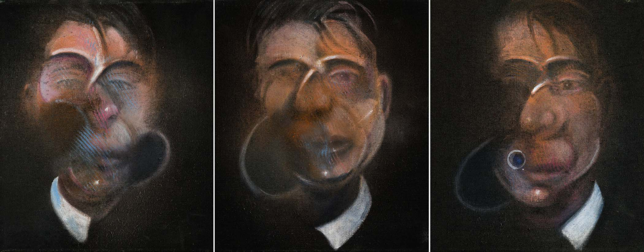 Francis Bacon: Three Studies for a Self-Portrait (1980)