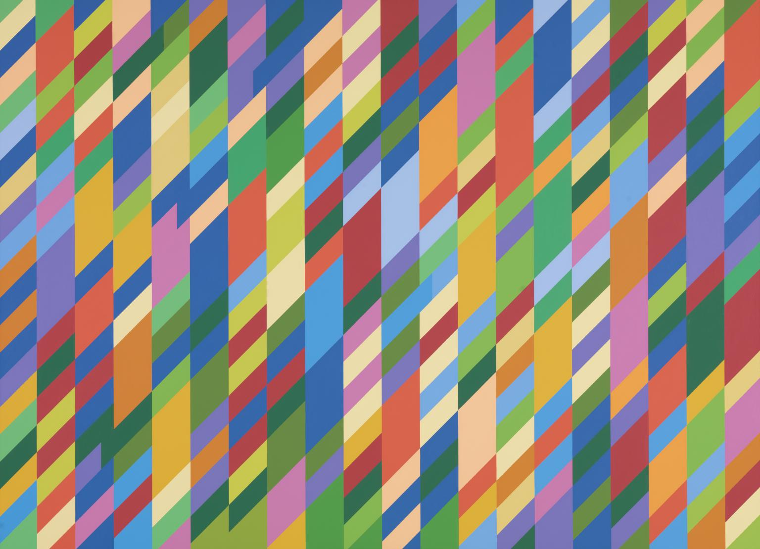Bridget Riley: Nataraja (1993) © Bridget Riley | Image from Tate Gallery (fair use)