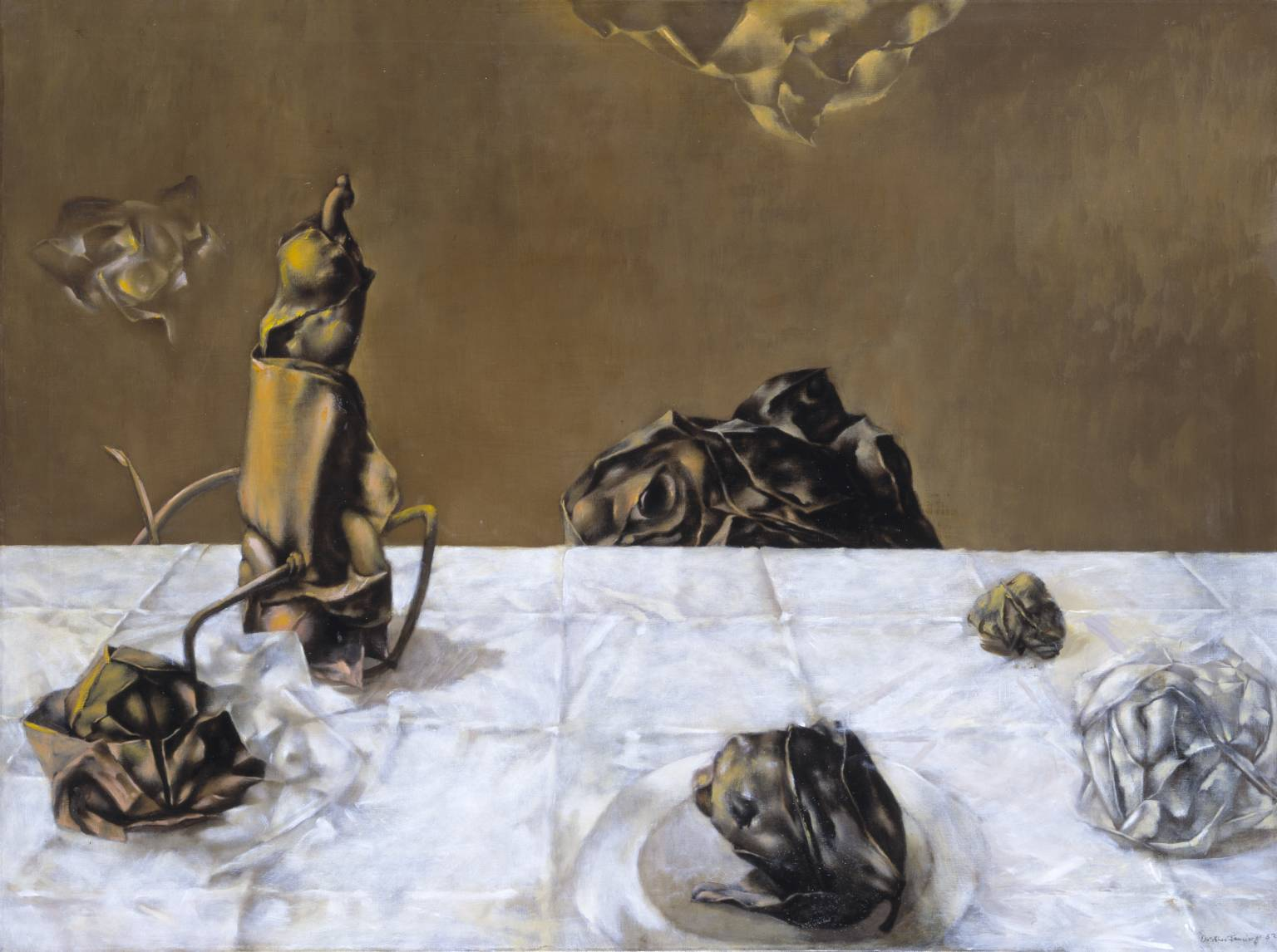 Dorothea Tanning: Some Roses and Their Phantoms (1952) © The Estate of Dorothea Tanning | Image from Tate Gallery (fair use)