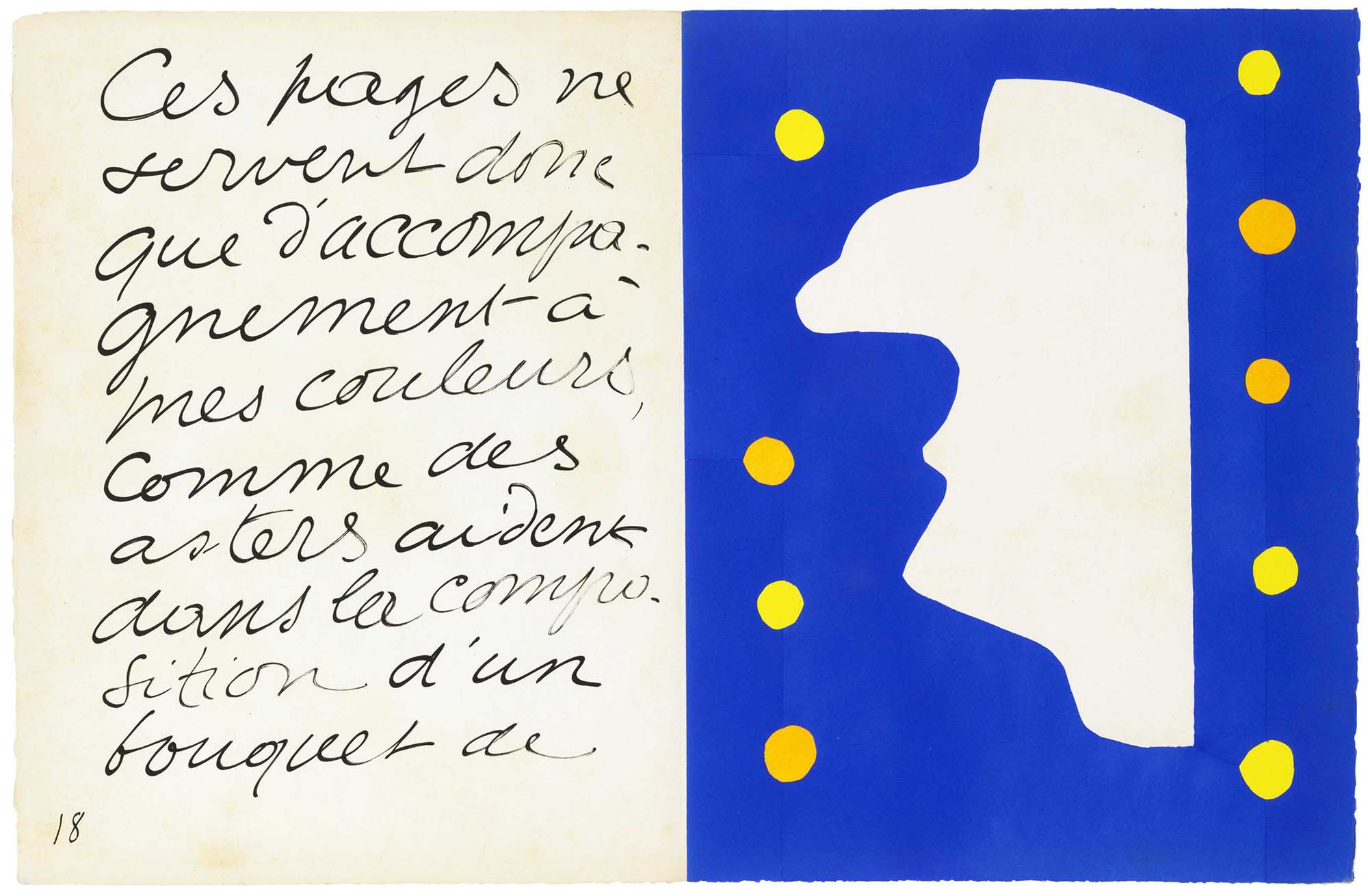 Henri Matisse: M. Loyal from the Jazz book (1947) | Image from Christies (fair use)