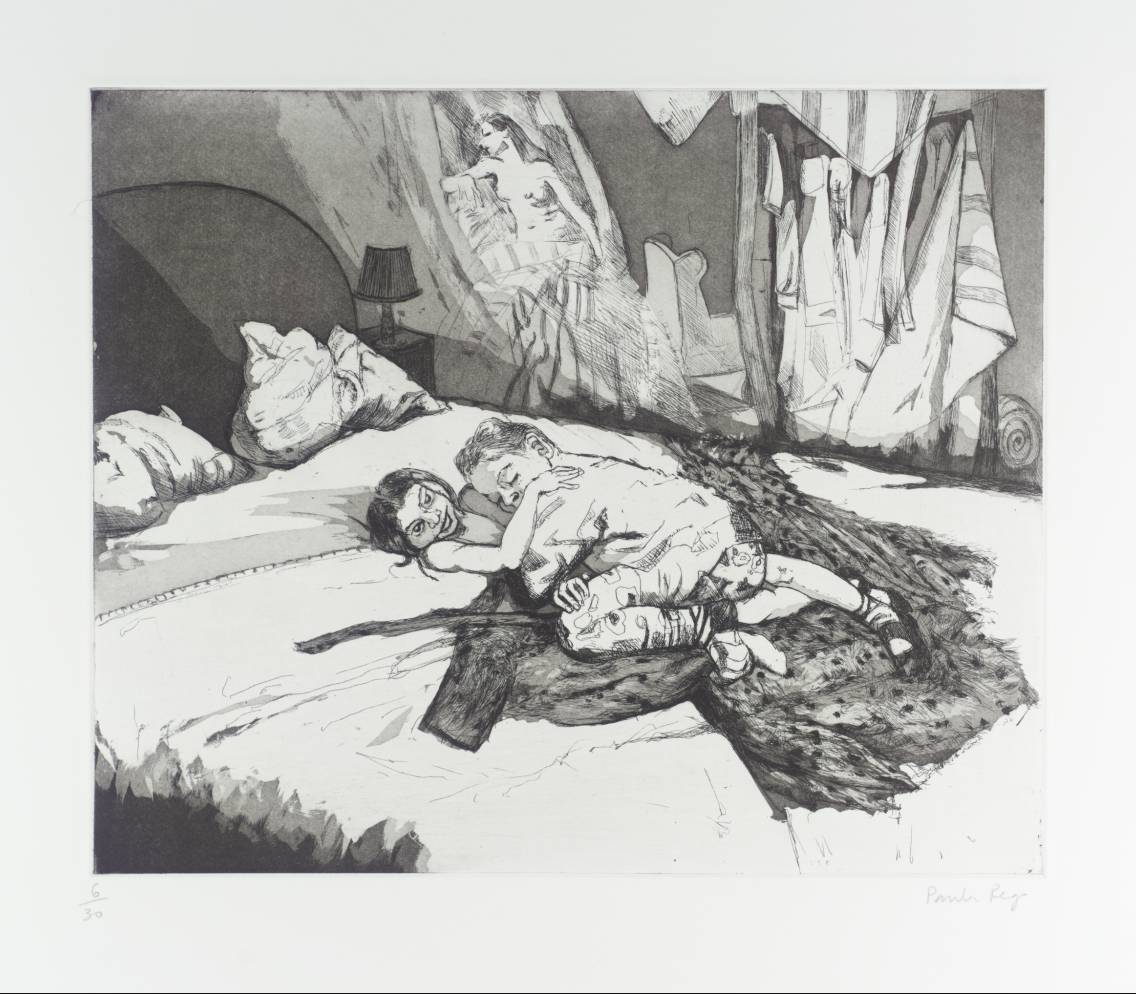 Paula Rego: Mist IV (1996) © Paula Rego | Image from Tate Gallery (fair use)