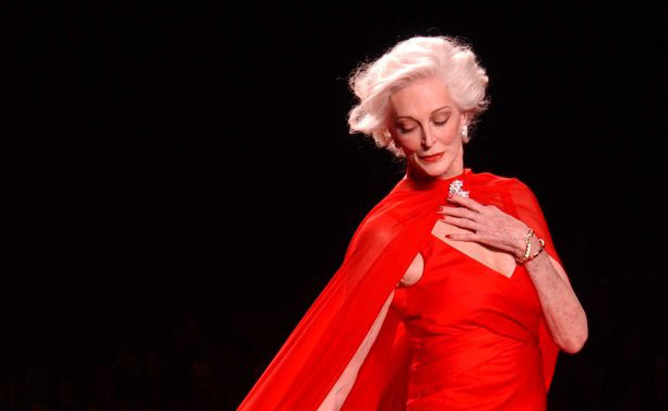 Carmen Dell'Orefice, Red Dress Collection 2005 | Photo by The Heart Truth (CC)